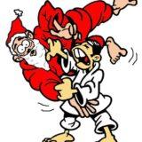 le vendredi 21 Decembre : Entrainement de Noel a penhars (pas de cours a ergué armel)