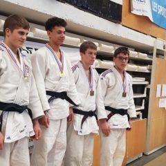 Demie Finale Championnat de France cadets: Adrien Le Touze 1ier