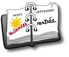Les horaires de rentrée (1 septembre)à Quimper….
